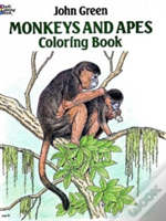 Monkeys And Apes Colouring Book