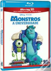 Monstros: A Universidade 3D + 2D + Disco Bónus (3 Discos) (Blu-Ray)