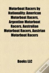 Motorboat Racers By Nationality: America