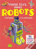 Moving Paper Toy Robots