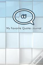 My Favorite Quotes Journal