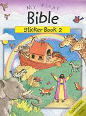 MY FIRST BIBLE STICKER BOOK