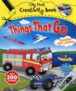 My First Creativity Book Things That Go