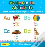 My First English Alphabets Picture Book With English Translations