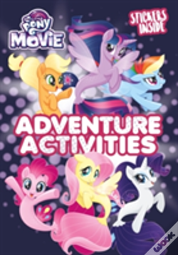Wook.pt - My Little Pony Movie: Activity Book With Stickers