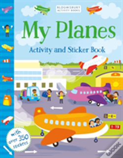 Wook.pt - My Planes Activity And Sticker Book