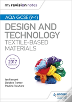 Wook.pt - My Revision Notes: Aqa Gcse (9-1) Design & Technology: Textile-Based Materials
