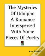 Mysteries Of Udolpho A Romance Interspersed With Some Pieces Of Poetry