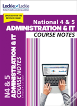 Wook.pt - National 4/5 Administration And It Course Notes