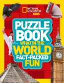 National Geographic Kids Puzzle Book - What In The World?