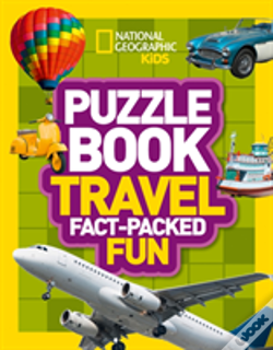 Wook.pt - National Geographic Kids Puzzle Books - Travel