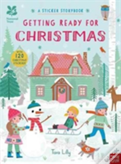 Wook.pt - National Trust: Getting Ready For Christmas, A Sticker Storybook