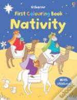 Nativity Colouring Book With Stickers