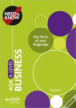 Wook.pt - Need To Know: Aqa A-Level Business