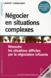 Negocier En Situations Complexes