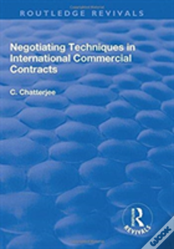 Wook.pt - Negotiating Techniques In International Commercial Contracts