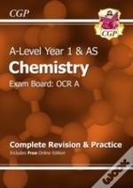 New 2015 A-Level Chemistry: Ocr A Year 1 & As Complete Revision & Practice With Online Edition