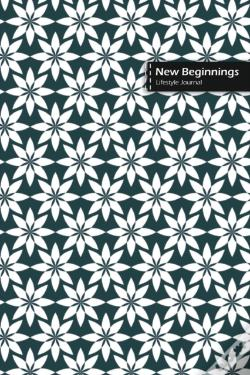 Wook.pt - New Beginnings Lifestyle Journal, Blank Write-In Notebook, Dotted Lines, Wide Ruled, Size (A5) 6 X 9 In (Olive Green)