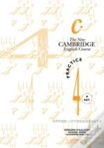New Cambridge English Course 4 Practice Book With Keypractice Book With Key
