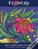 New Coloring Books For Adults (Flowers)