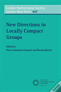 Wook.pt - New Directions In Locally Compact Groups