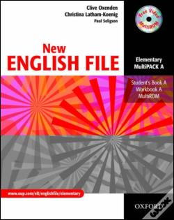 Wook.pt - New English File: Elementary - Multipack A Student'S Book and Workbook In One