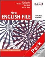 New English File: Elementary - Workbook and MultiROM Pack