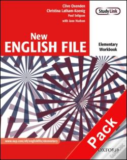 Wook.pt - New English File: Elementary - Workbook and MultiROM Pack