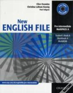 Wook.pt - New English Filemultipack A (Student'S Book And Workbook In One)