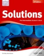New Solutions Pre Intermediate Student Book