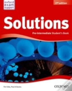 Wook.pt - New Solutions Pre Intermediate Student Book