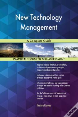 Wook.pt - New Technology Management A Complete Guide