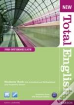 New Total English Pre-Intermediate Students' Book With Active Book And Mylab Pack