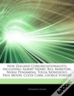 New Zealand Congregationalists, Including