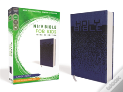 Wook.pt - Nirv, Bible For Kids, Large Print, Leathersoft, Blue, Comfort Print