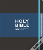 Niv Black Journalling Bible With Unlined Margins