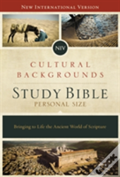 Niv, Cultural Backgrounds Study Bible, Personal Size, Hardcover, Red Letter Edition