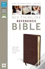 Niv Thinline Reference Bible Burgundy Leather