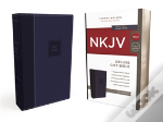 Nkjv, Deluxe Gift Bible, Imitation Leather, Blue, Red Letter Edition