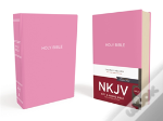 Nkjv, Gift And Award Bible, Leather-Look, Pink, Red Letter Edition