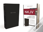 Nkjv, Reference Bible, Center-Column Giant Print, Leather-Look, Black, Red Letter Edition, Comfort Print