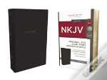 Nkjv, Reference Bible, Personal Size Giant Print, Imitation Leather, Black, Red Letter Edition, Comfort Print