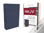 Nkjv, Reference Bible, Personal Size Giant Print, Imitation Leather, Blue, Red Letter Edition, Comfort Print