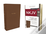 Nkjv, Reference Bible, Personal Size Giant Print, Imitation Leather, Tan, Red Letter Edition, Comfort Print