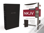 Nkjv, Thinline Bible, Compact, Imitation Leather, Black, Red Letter Edition