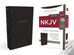Wook.pt - Nkjv, Thinline Bible, Compact, Imitation Leather, Black, Red Letter Edition