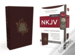 Nkjv, Thinline Bible, Compact, Imitation Leather, Burgundy, Red Letter Edition