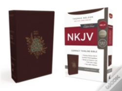 Wook.pt - Nkjv, Thinline Bible, Compact, Imitation Leather, Burgundy, Red Letter Edition