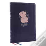 Nkjv, Thinline Bible, Large Print, Imitation Leather, Blue/Pink, Red Letter Edition