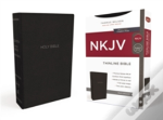 Nkjv, Thinline Bible, Standard Print, Imitation Leather, Black, Red Letter Edition